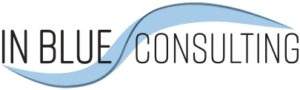 in blue consulting in Cedar Rapids, Iowa logo